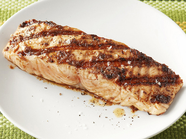 Picture of Salmon with Olive Vinaigrette Recipe
